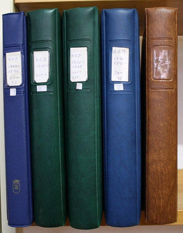 BUND 1949-2010, postfrische Sammlung mit 350,-Euro NOMINALE