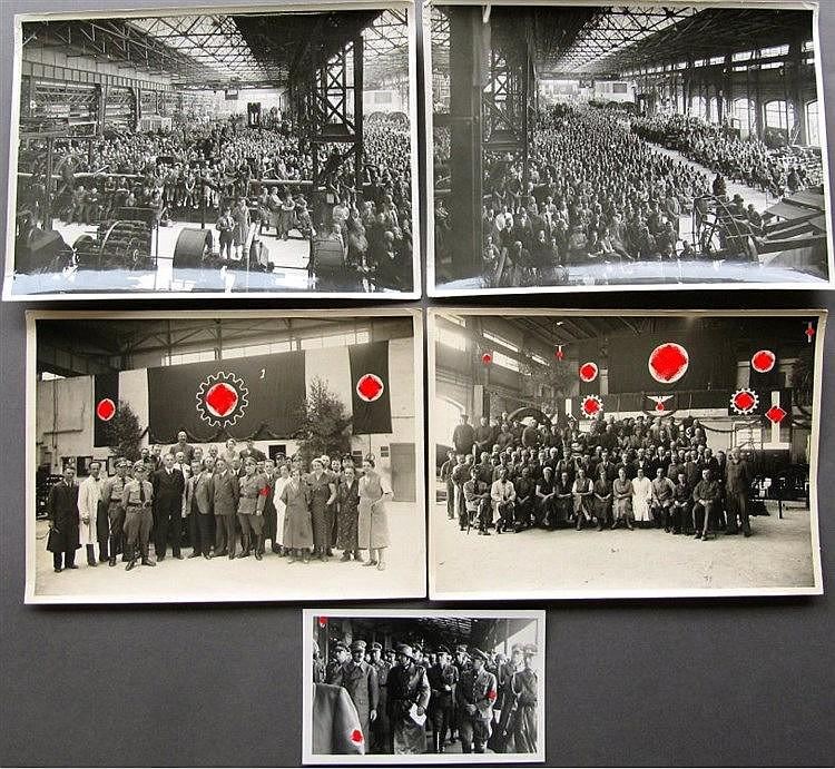 1936 HITLERREDE in den KRUPPWERKEN, private ORIGINALFOTOS!