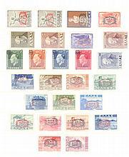 GRIECHENLAND 1946 kompletter Jahrgang, Katalogwert 357,-Euro