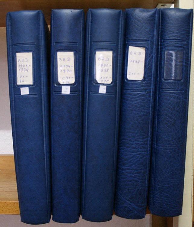 BUND 1949-2010, postfrische Sammlung mit 335,-Euro NOMINALE