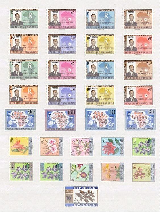 RUANDA 1962 bis 1966