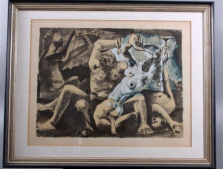 Pablo Picasso (1881-1973), Bacchanal 1967