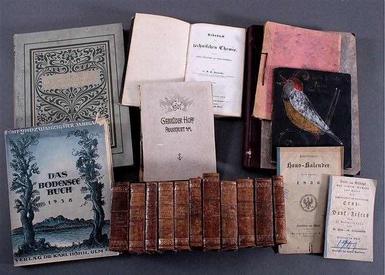 Konvolut Bücher, 20 Stück