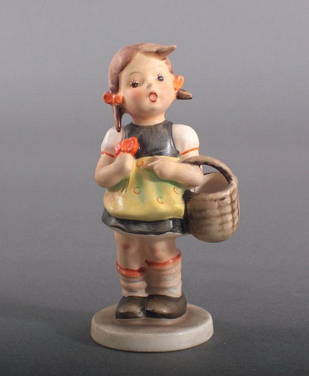 Alte Göbel - Hummel Figur 'Der erste Einkauf', 98/0