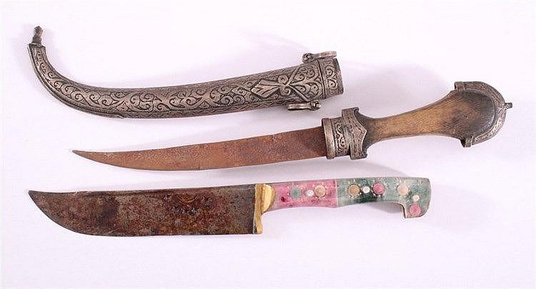 Messer und Dolch, Afrika um 1900