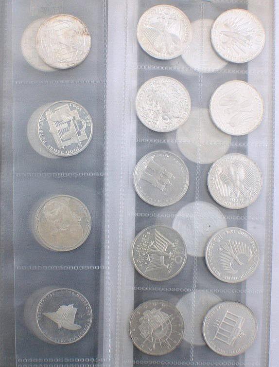 BRD Gedenkmünzen
