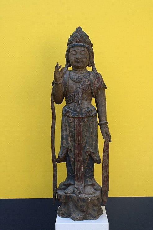 Bodhisattva, China um 1900
