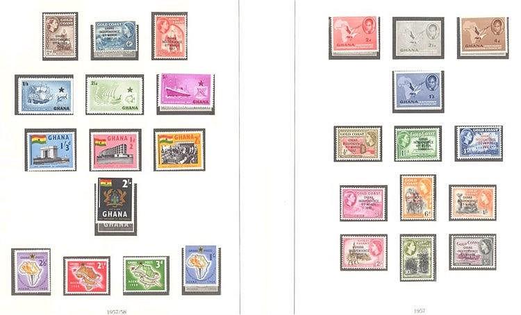GHANA 1957 bis 1965, ab DOMINION