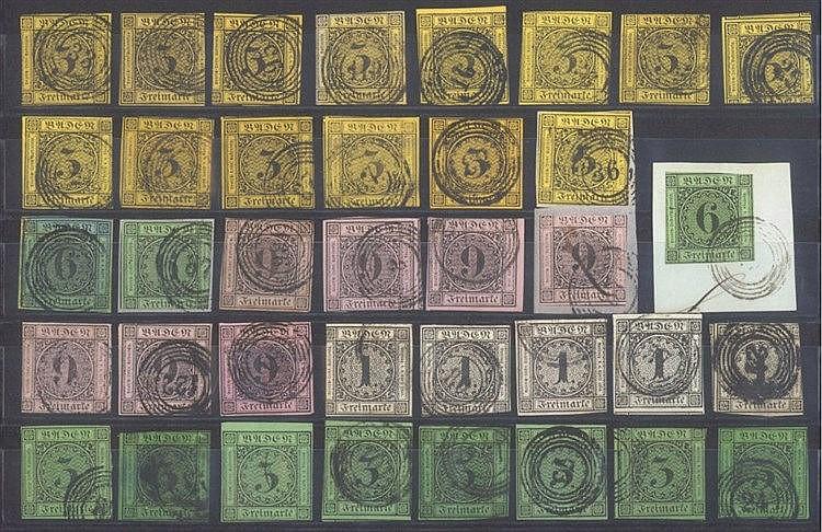 BADEN 1851-1868