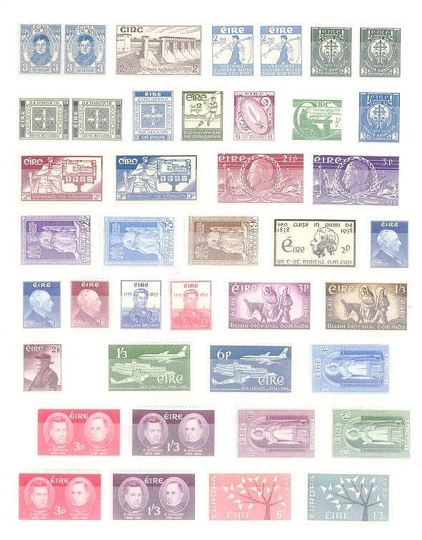 IRLAND 1929-1972, Katalogwert 700,- Euro