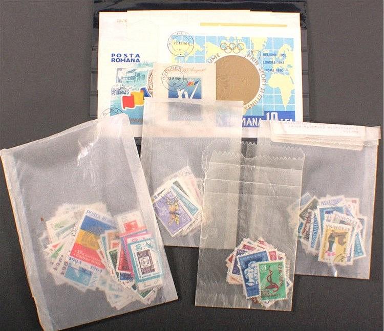 RUMÄNIEN 1962-1965, Katalogwert 155,- Euro