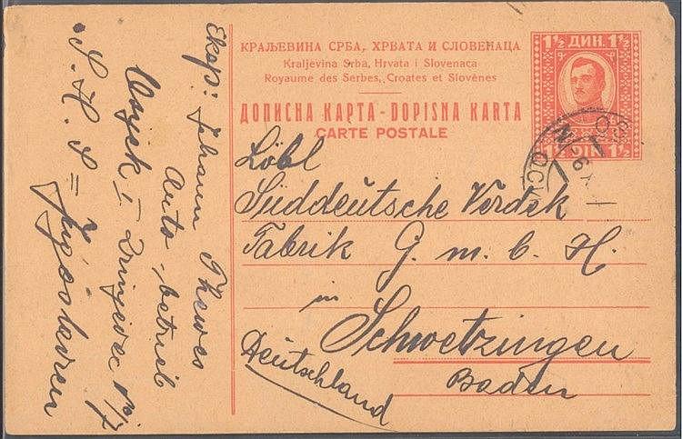 AUTOMOBILE, 1925 SÜDDEUTSCHE VERDECK FABRIK SCHWETZINGEN