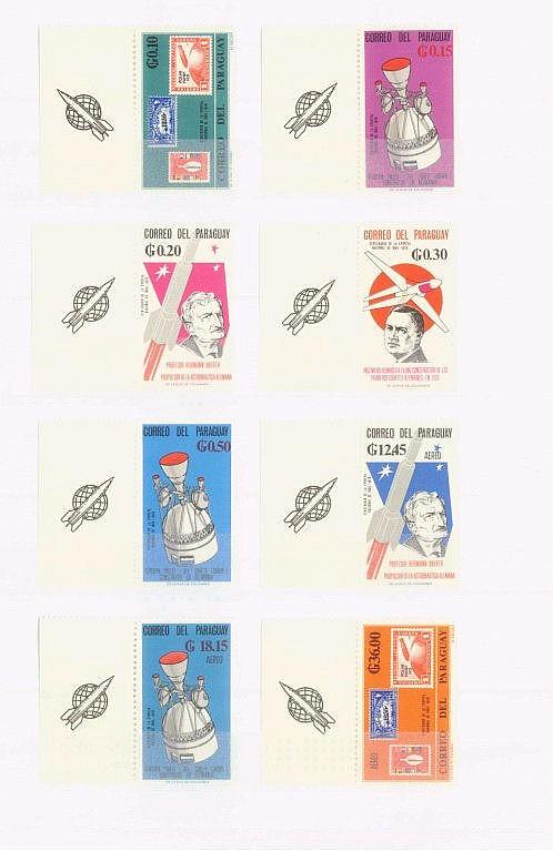 MOTIV WELTRAUM, Paraguay 1966, Katalogwert über 100,- Euro