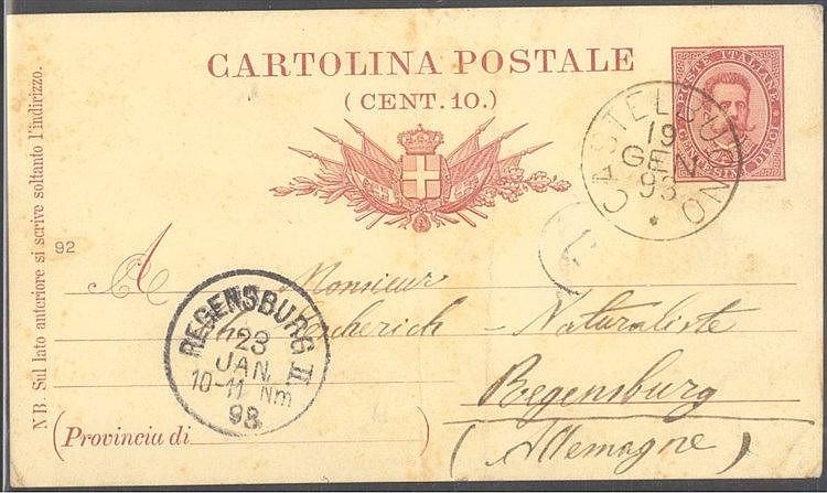 1893 DEUTSCHE KOLONIEN KAMERUN, was hat eine italienische...