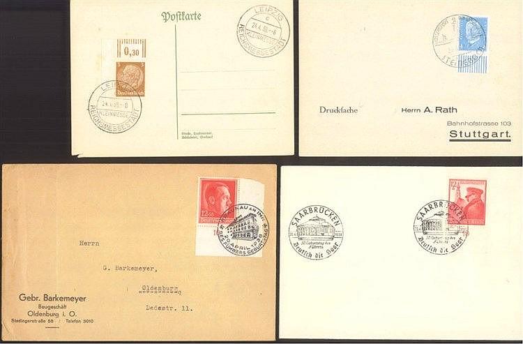 III. REICH 1936-1939, BOGENECKEN