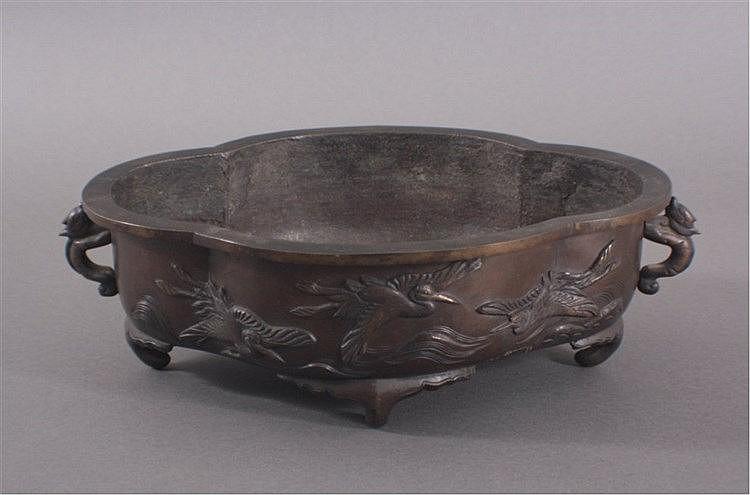 Asiatische Bronzeschale