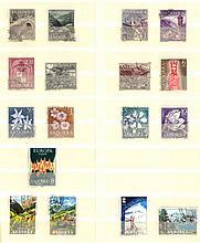 ANDORRA (SPANISCH) 1963-1972, mit EUROPAMARKE! 115,- KW