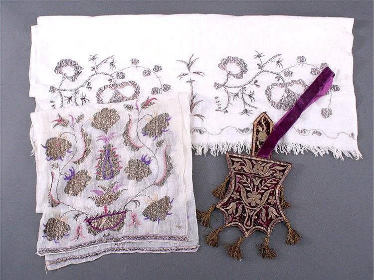Krim-Tatarische Handarbeit, Samt um 1840/50