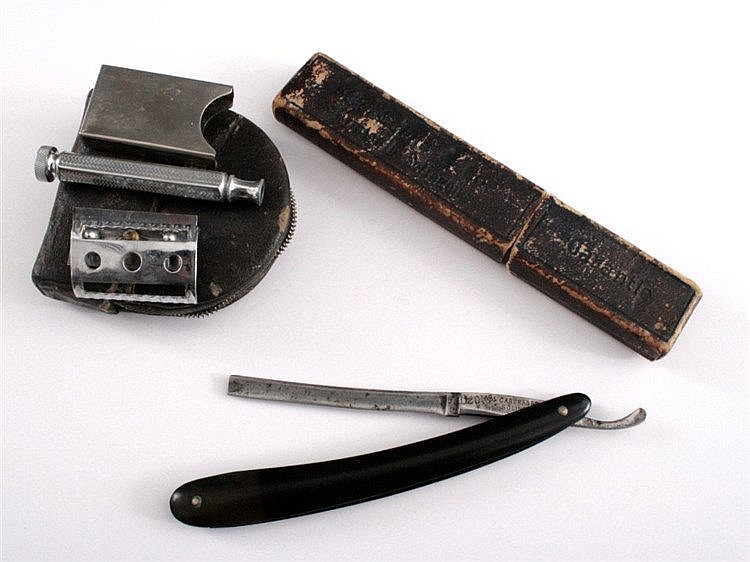 Rasiermesser und Reise-Rasier-Set