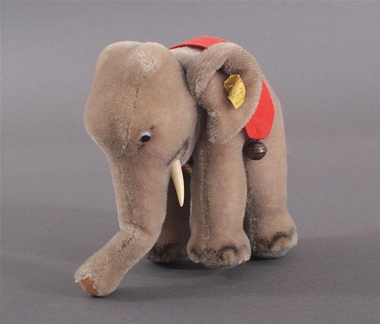 Steiff großer, alter Elefant