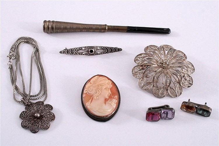 Konvolut Antiker Silberschmuck