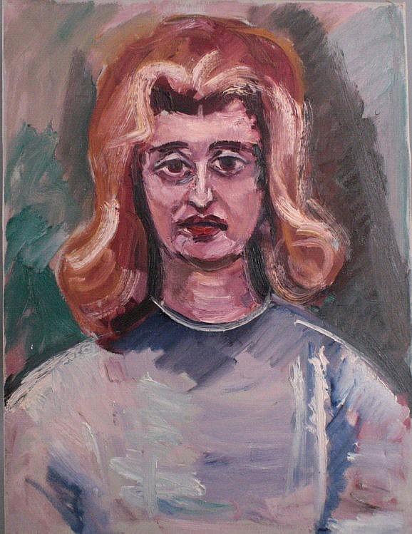 Gemälde wohl F. Bosma, Niederländischer Maler Mitte 20. Jh.