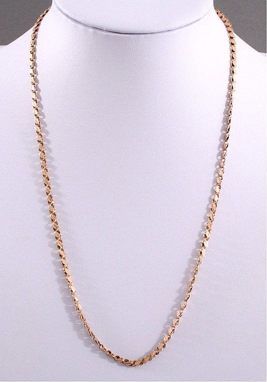 Halskette 585/000 GG