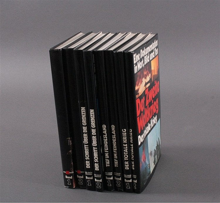 8 Bände Geschichte, III. Reich, 70er Jahre