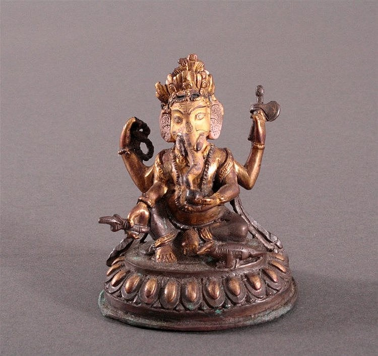 Ganesha, Tibet um 1900