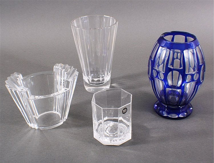 Konvolut Kristall, Vasen und Glas