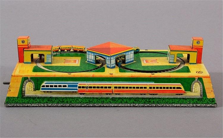 Kleine Eisenbahn aus Blech