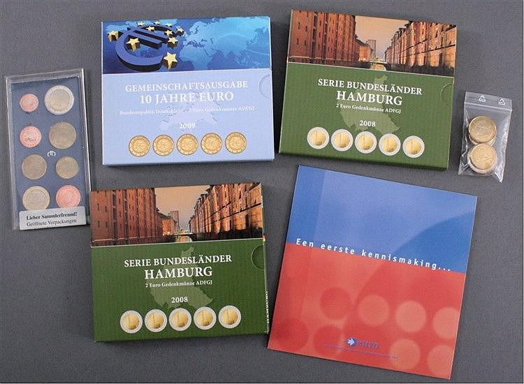 Kleine Sammlung Euro-Münzen