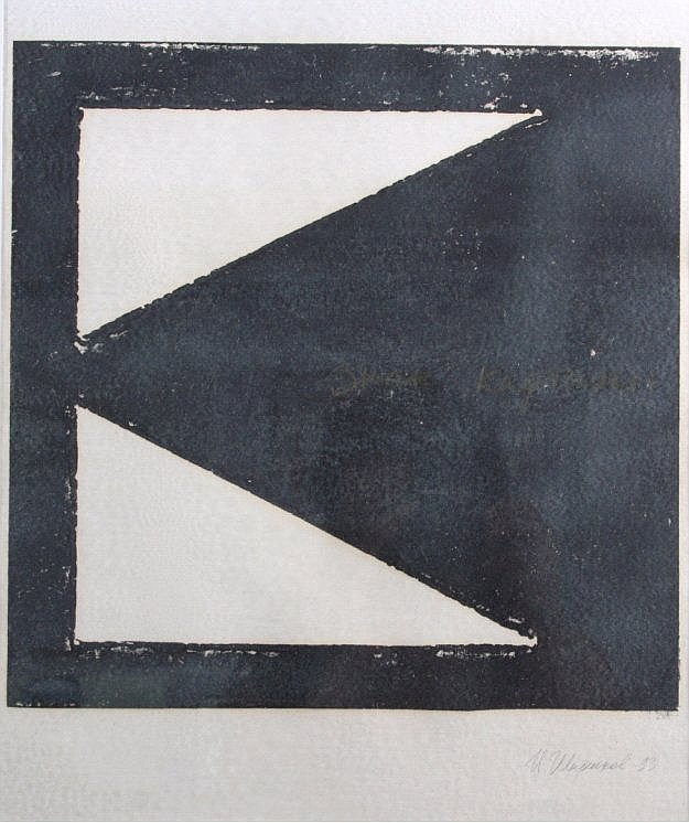 Komposition in Schwarz-Weiß