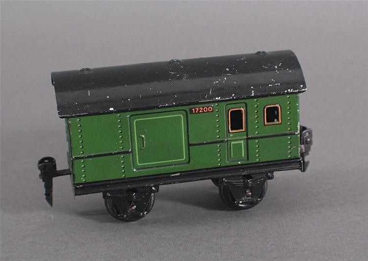 Märklin, Paketwagen / Güterwagen 17200 Spur 0