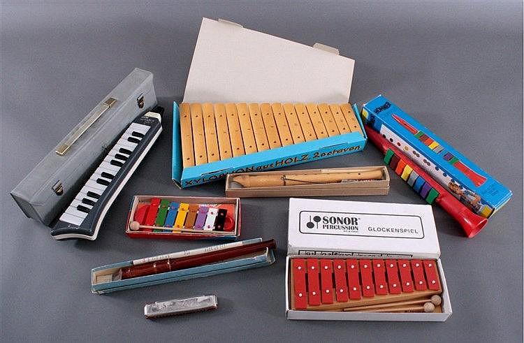 Konvolut Instrumente