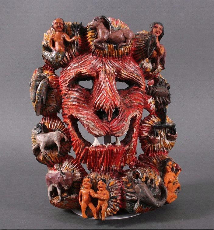 Löwenkopfmaske von Jakob Oberhollenzer
