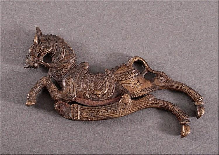 Nußknacker aus Bronze, 18./19. Jh.