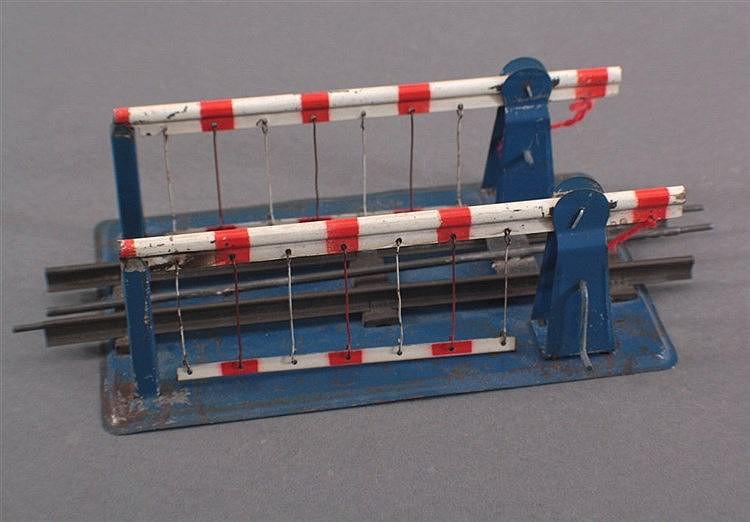 Bahnschranke mit Schiene, Spur 0