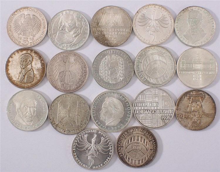 10 DM Gedenkmünzen - Olympiade 1972