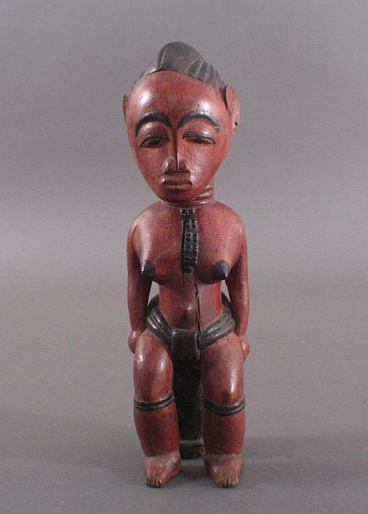 Frauenfigur, Stammeskunst der Baule, Elfenbeinküste
