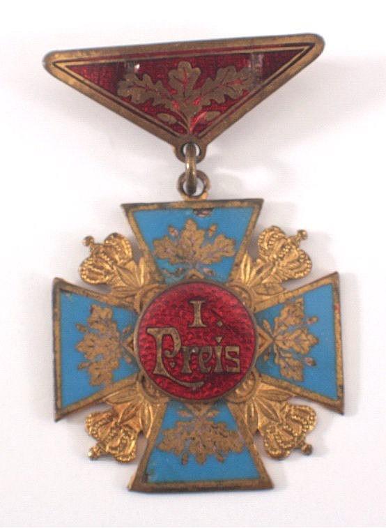 Medaille 1. Preis B.V.W. Vereinsfahren, 1911