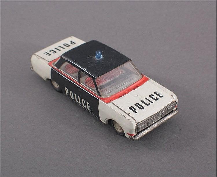 Blechspielzeug Auto, Police, DDR