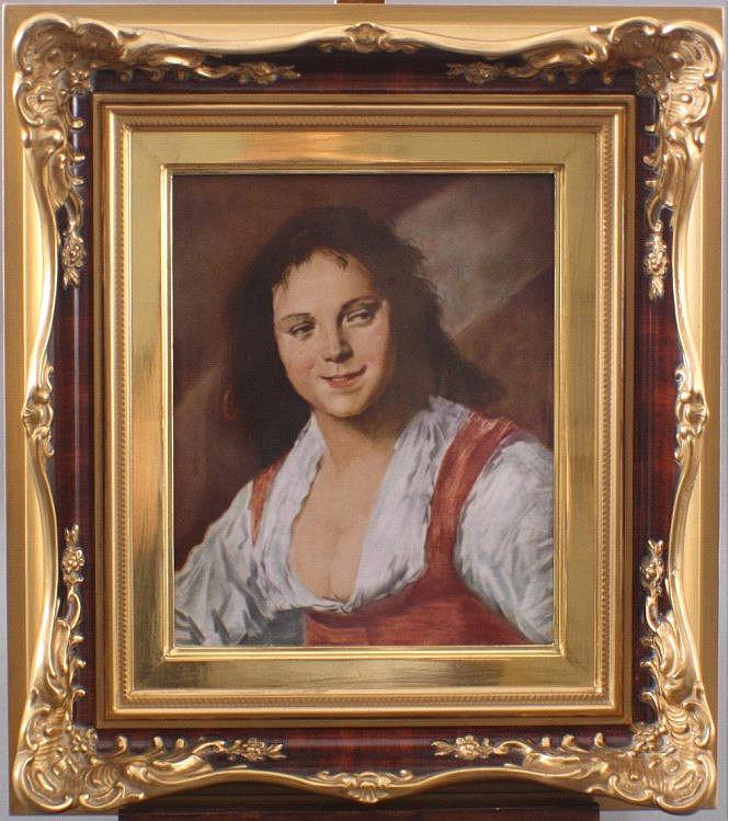 Bildplatte, Rosenthal, nach Frans Hals (1580-1666)