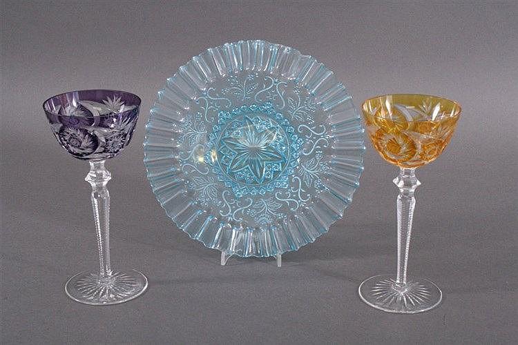 3 Teile Glas