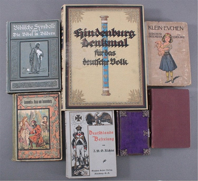 Konvolut Bücher