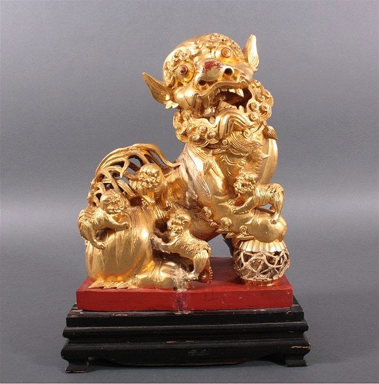 Fo Hund, China um 1900