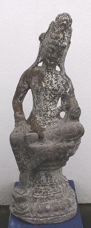 Große Skulptur, China 1. Hälfte 20. Jh.