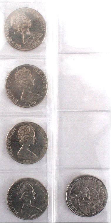 Münzen, Isle of Man