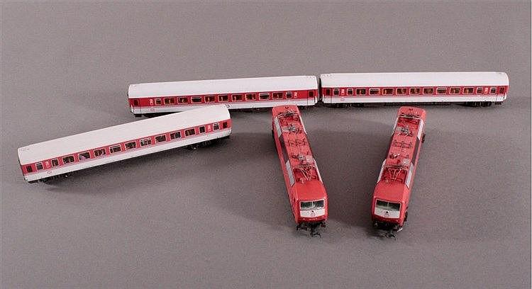 2 x Fleischmann E-Lok, Spur H0, Deutsche Bahn