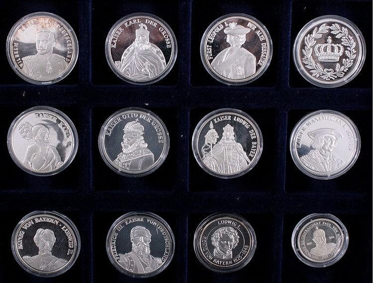 Sammlung 'Deutsche Fürsten und Könige'